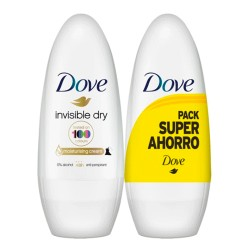 Comprar Dove Desodorante Roll On Invisible Duplo 2x50ml