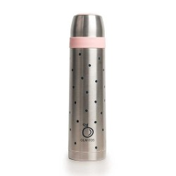 Olmitos Termo Acero Inoxidable Dots 500ml