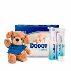 Dodot Pack Sensitive Protection Plus + Bepanthol bebé + REGALO