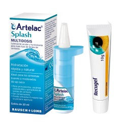 Comprar Recugel 10g + Artelac Splash 10ml Regalo