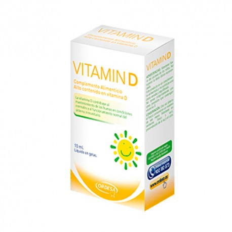 Ordesa Vitamin D 10ml