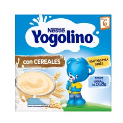 Comprar Nestlé Yogolino Cereales +6m 4x100gr