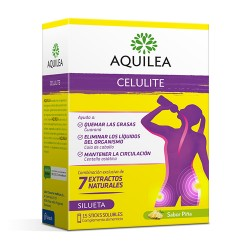 AQUILEA MINI CELULINA TE VERDE 15 STICKS