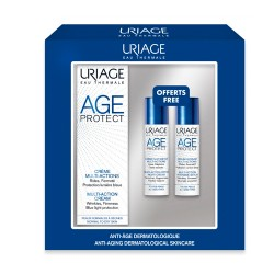 Comprar Uriage Age Protect Antiedad Facial Pack Crema 40ml + Sérum 10ml + Crema Noche Détox 10ml