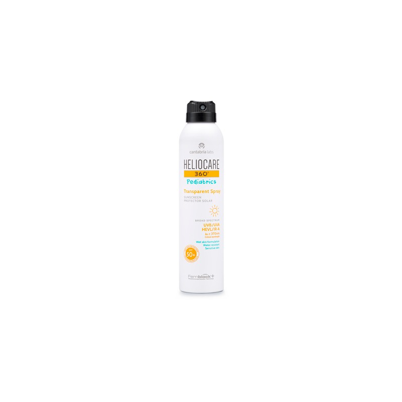 Heliocare 360º Pediatrics Spray Transparente SPF 50+  200ml