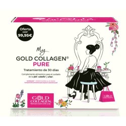 Comprar Gold Collagen Pure Tratamiento Mes 30 botellitas x 50ml