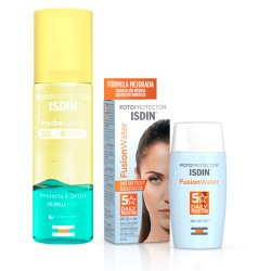 Isdin Fusion Water SPF 50 50ml + Fotoprotector Hidro Lotion SPF50 200ml