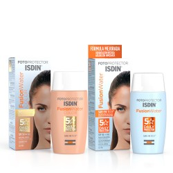 Isdin Fotoprotector Fusion Water SPF50+ 50ml + Fusion Water Color SPF50+ 50ml