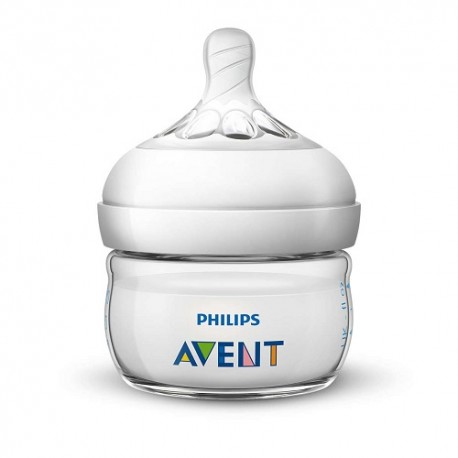 Philips Avent Biberón Natural Transparente 0m+ 60ml