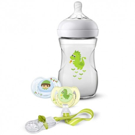 Philips Avent Set de Regalo Natural Dragón 0m+