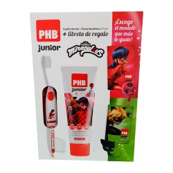 PHB Pack Junior Pasta 75ml + Cepillo + Regalo Exclusivo Madagascar