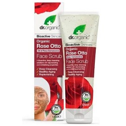 Comprar Dr. Organic Rose Otto Exfoliante Facial 125ml