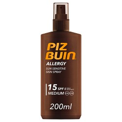 Comprar Piz Buin Allergy Spray SPF15 200ml