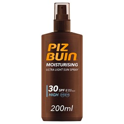 Comprar Piz Buin Ultra Light Sun Spray SPF 30 200ml