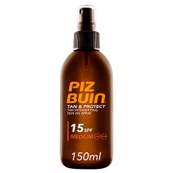 Piz Buin Tan & Protect Oil Spray SPF 15 150ml