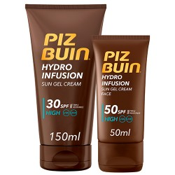 Comprar Piz Buin Pack Hydro Infusion facial SPF50 + corporal SPF30