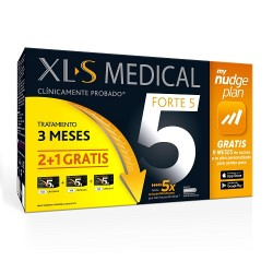 Comprar XLS Medical Forte 5 Tratamiento 3 Meses + My Nudge Plan