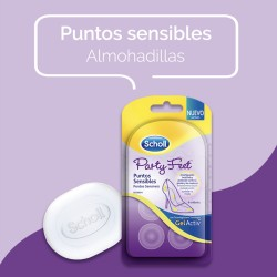 Scholl Party Feet Almohadillas Puntos Sensibles