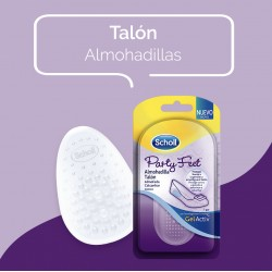 Scholl Party Feet Almohadilla Talón 1 Par