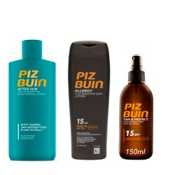 Comprar Pack Solar Piz Buin Aceite SPF 15 + Corporal SPF 15 + After Sun