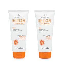 Comprar Heliocare Advanced Gel SPF50 Duplo 2x200ml