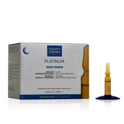 Comprar Martiderm Platinum Night Renew 30 ampollas