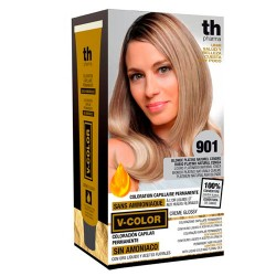 Comprar TH Pharma V-Color Tinte Nº 901 Sin Amoniaco Rubio Platino Natural Ceniza