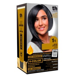 Comprar TH Pharma V-Color Tinte Nº 1.1 Sin Amoniaco Negro Azul