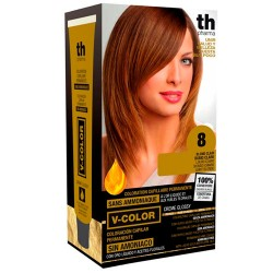 Comprar TH Pharma V-Color Tinte Nº 8 Sin Amoniaco Rubio Claro