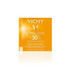 Vichy Ideal Soleil Compacto Solar Color Beige Arena SPF 30 9g