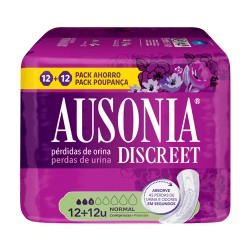 Comprar Ausonia Discreet Normal 12+12 Unidades
