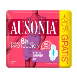 ausonia-air-dry-alas-super-12-unidades