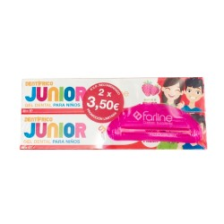 Comprar Farline Pasta  JuniorDuplo 2 x 50ml + Regalo Exprimidor
