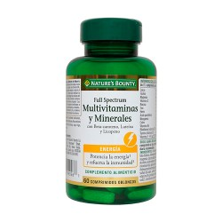 Comprar Nature's Bounty Full Spectrum Multivitaminas y Minerales 60 Comprimidos
