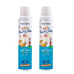 Comprar Frezyderm Kids Sun Care SPF50+ Wet Skin Spray Duplo 2x200ml
