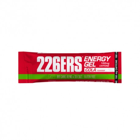 226ERS Energy Gel Bio 160mg Cafeína Cola 40gr