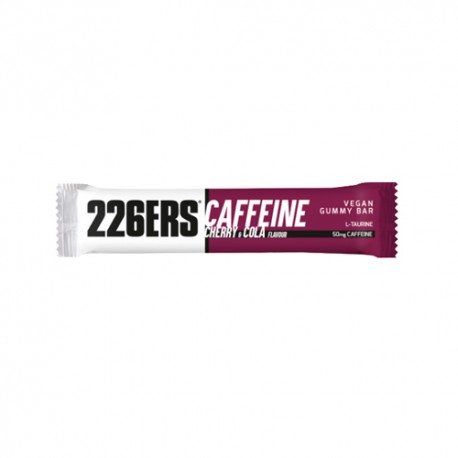 226ERS Vegan Gummy Bar Pectina Cafeina Cereza Cola 30gr