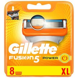 Gillette Fusion 5 Power XL 8 unidades