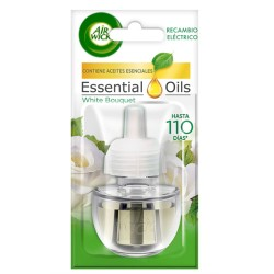 Air Wick Recambio Ambientador Electrico White Bouquet 19ml