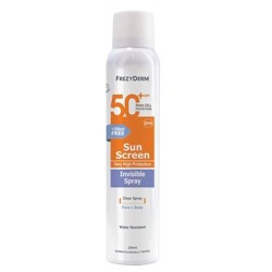 Frezyderm Sun Screen SPF50+ Invisible Spray 200ml