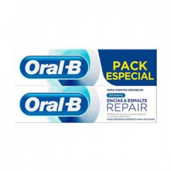 Oral B Repair Original Duplo Pasta Dental Encías y Esmalte 2x125ml