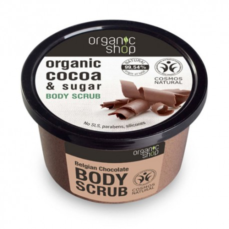 Organic Shop Exfoliante Corporal Chocolate Belga 250ml