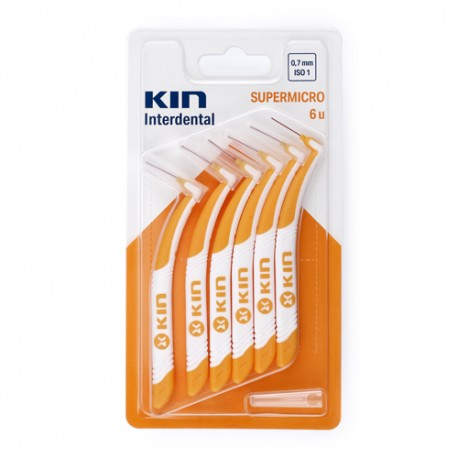 Kin Interdental Supermicro 6 unidades