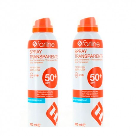 Farline Duplo Spray Transparente SPF 50+ 200ml
