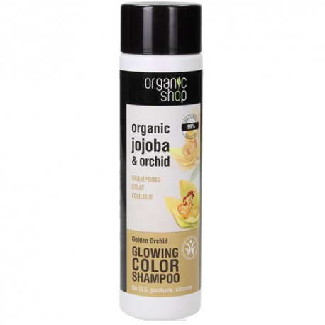 Organic Shop Eco-Champú Color Resplandeciente Orquídea Dorada 280ml