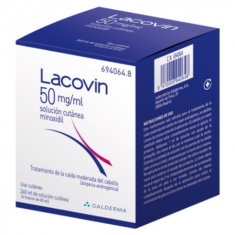 Lacovin 50mg/ml 4 Frascos 60 ml