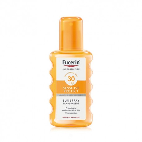 Eucerin Sun Protection Spray Transparente SPF 30 200ml.