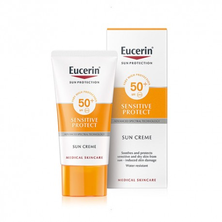 Eucerin Sun Creme Sensitive Protect SPF 50+