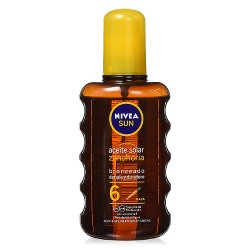 Nivea Spray Aceite Solar SPF6+ 200ml