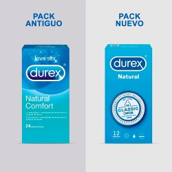 PRESERVA.DUREX NATURAL PLUS EASY ON 6UND